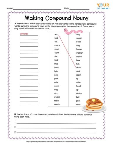 making compound nouns