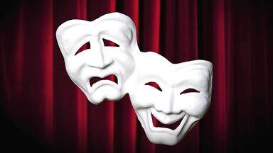 greek tragedy mask in literature