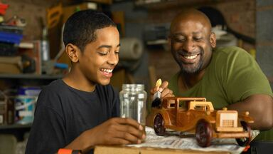 Father and son examples of humanistic perspective