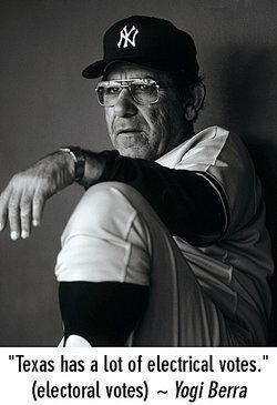 Yogi Berra as examples of malapropism