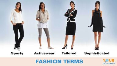fashion terms to describe style