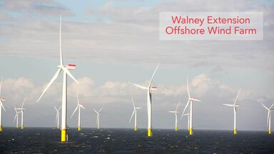 wind energy example Walney Extension Offshore Wind Farm
