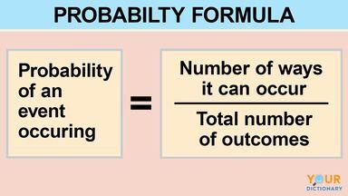 example of probability using formula