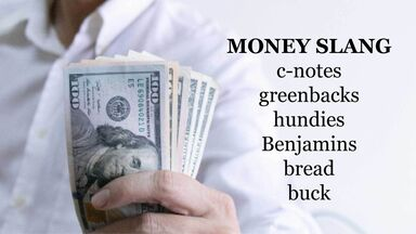 money slang word examples