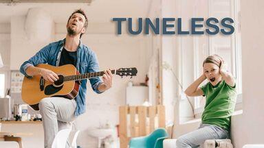 tuneless voice word