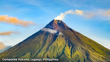 composite volcano legazpi philippines