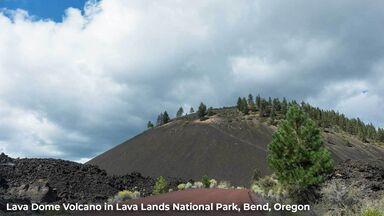 lava dome volcano bend oregon
