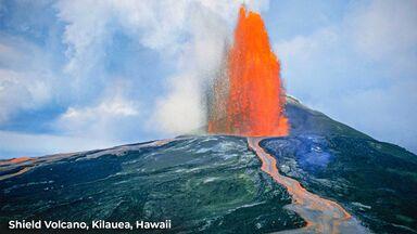 shield volcano kilauea hawaii