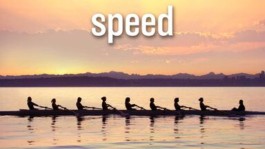 physics speed rowing