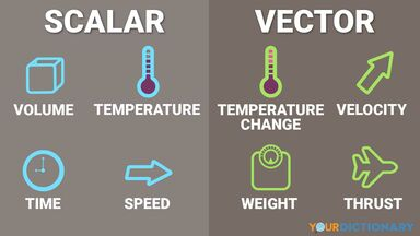 infographic scalar and vector examples