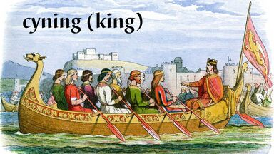 cyning old english word meaning king