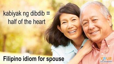 Filipino idiom for spouse