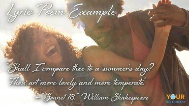 romantic couple lyric poem