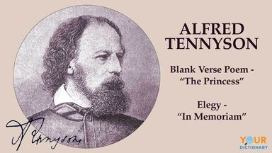 types of poems with famous poet Tennyson