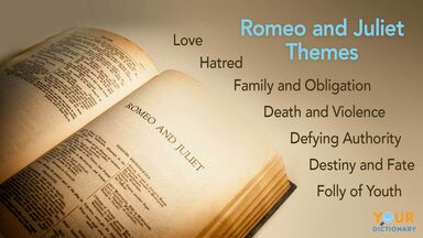 examples of themes in romeo and juliet