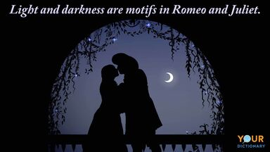 romeo and juliet light and darkness motif