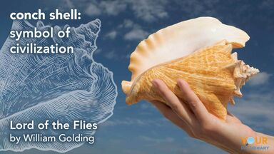 conch shell symbol lord of the flies