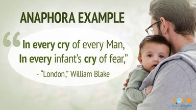 anaphora example from London by William Blake