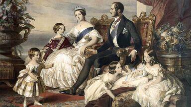 Queen Victoria Prince Albert with children
