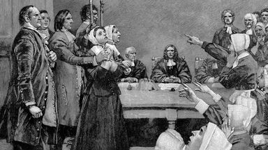 17th century witch trial