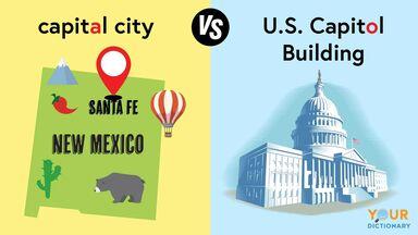 capital versus Capitol