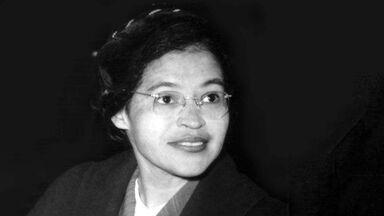Rosa Parks portrait 1955