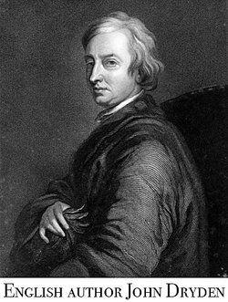 John Dryden as examples of parody