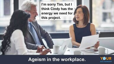 prejudice ageism in the workplace example