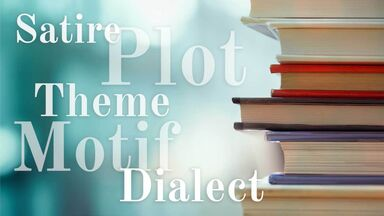 english literary terms