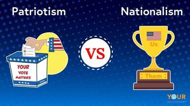 patriotism versus nationalism