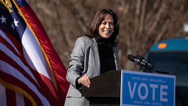 vice president Kamala Harris 2020