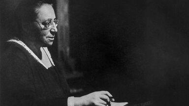 mathematician Amalie Emmy Noether