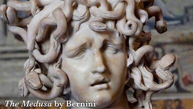 sculpture the medusa by Bernini