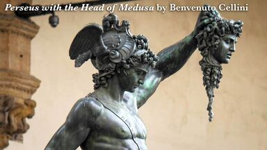 persius with the head of medusa Cellini
