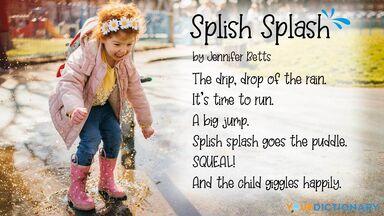 onomatopoeia poem splish splash jennifer betts