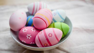 easter eggs symbol of fertility