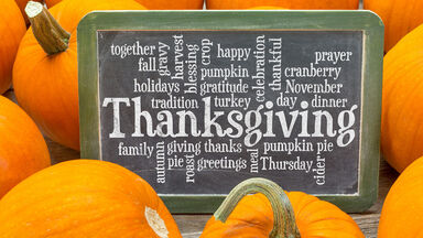 Thanksgiving words for game story starters