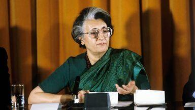 female prime minister of India Indira Gandhi 1966