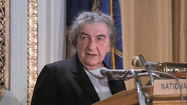 female Israel Prime Minister Golda Meir