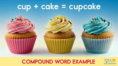 cupcake is compound word example