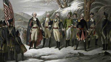 George Washington Revolutionary War 1775-1783