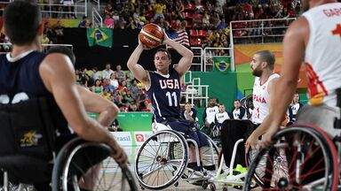 wheelchair basketball 2016 paralympic games