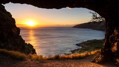 Kaneana Cave Oahu Hawaii