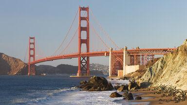 bakerbeach golden gate bridge california
