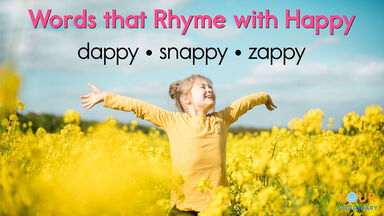 words that rhyme with happy