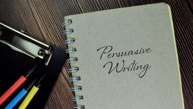 notebook persuasive writing