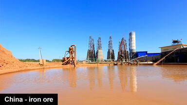 MaCheng iron mine China
