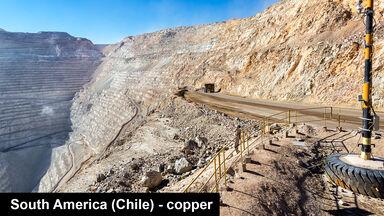 copper mine of Chuquicamata Chile