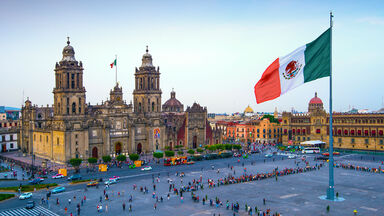 Zocalo square in Mexico City