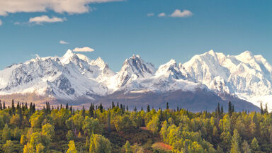 Denali is highest mountain peak in North America